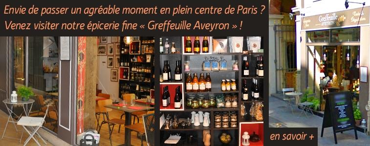 Boutique Greffeuille Aveyron à Paris