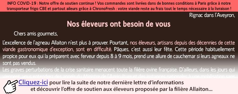 Newsletter Offre Demi Allaiton Pâques 2020
